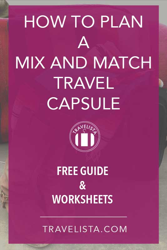 Mix and Match Travel Capsule Guide