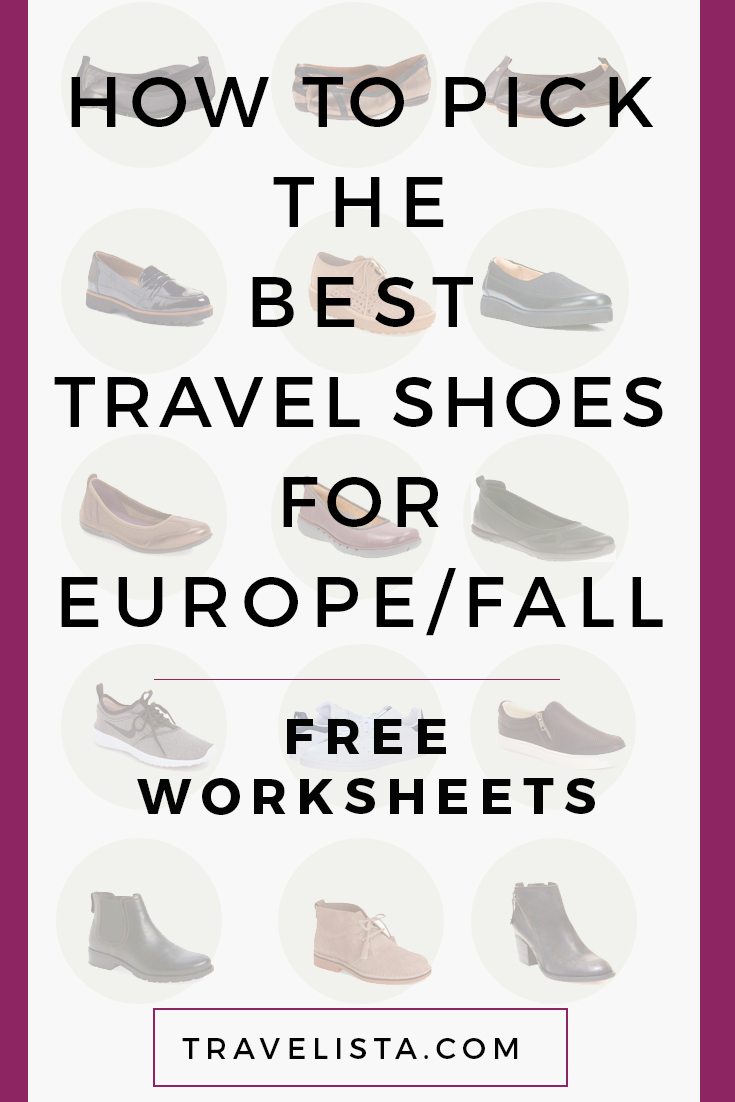 How to Pick Travel Shoes for Europe